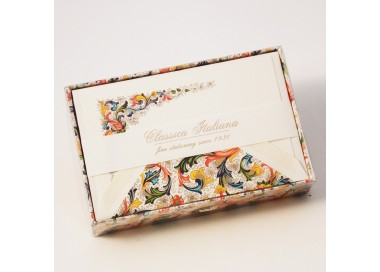Flat Cards and Lined Envelopes Florentine - FZN 003
