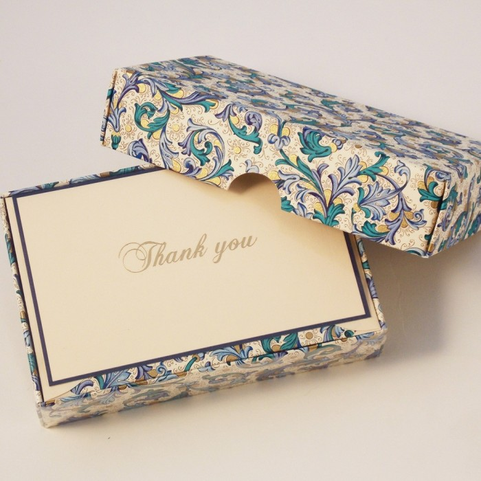 Thank You cards and Lined Envelopes - BSC 021T