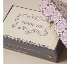 Thank You Cards and Lined Envelopes - BSC 484T