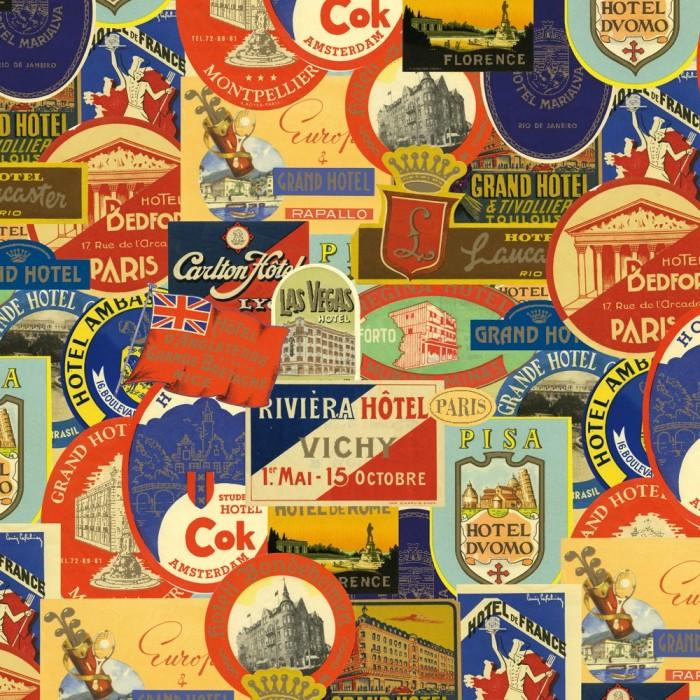 Decorative Paper Hotels Luggage Labels - CRT 098