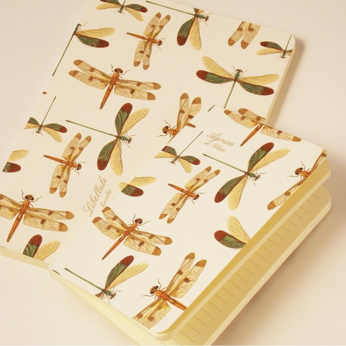 Notebook Softcover Dragon Flies - NB 101F  (Large)