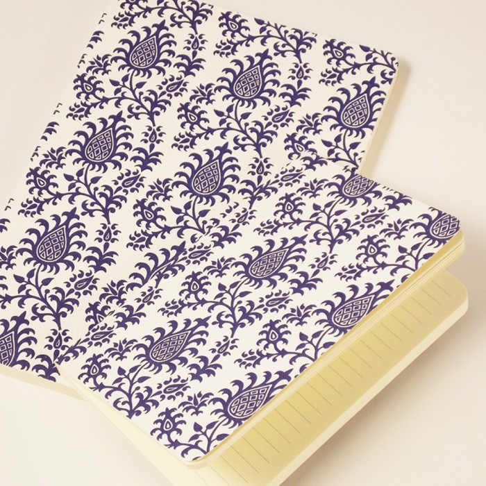 Notebook Softcover Pineapples Letterpress - NB L03G (Medium)