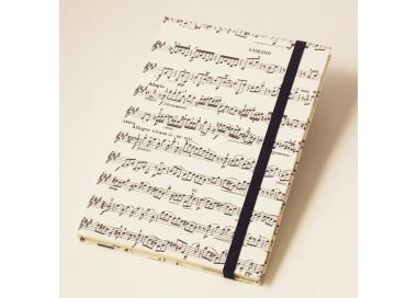 Notebook Hardcover Musical Score Vivaldi - NB 020B