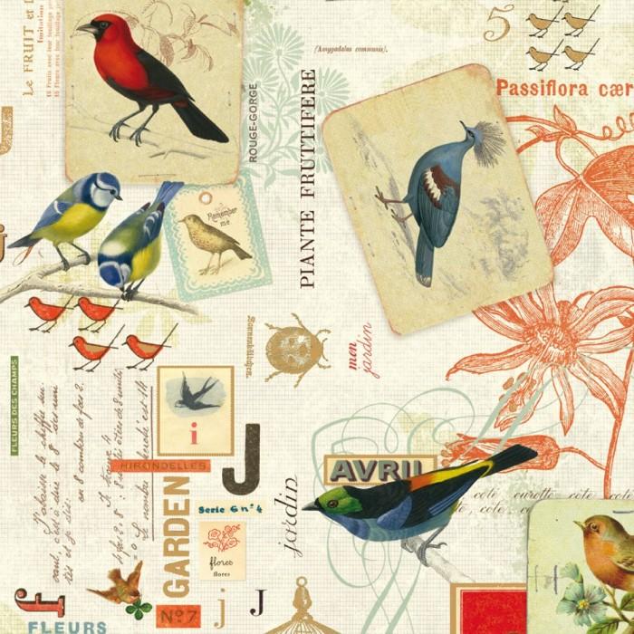 Decorative Paper Les Oiseaux - CRT 106
