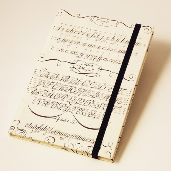 Notebook A5 Calligraphy Exercises - NB 536B