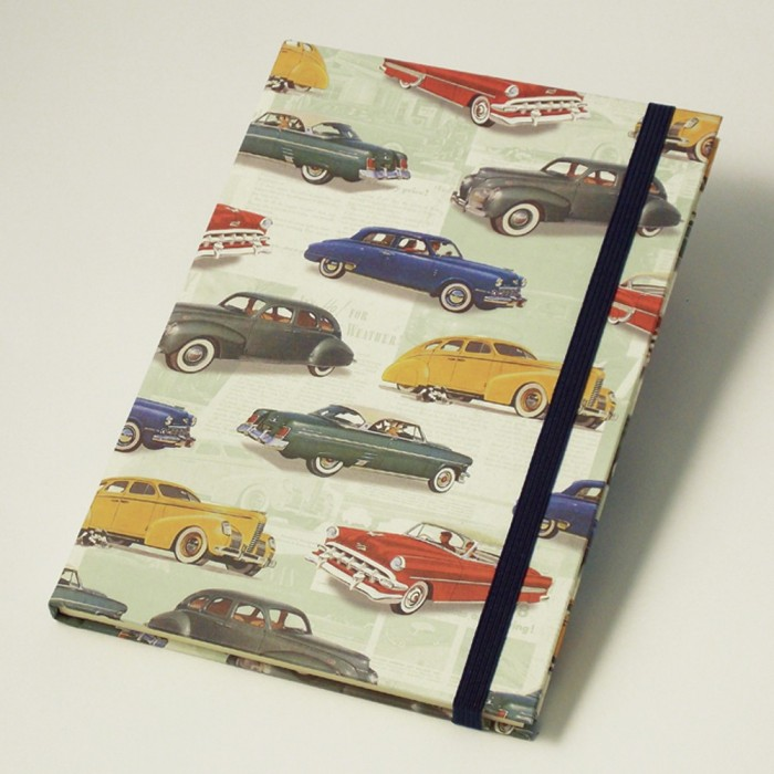 Notebook Hardcover A5 Vintage Cars - NB 651B