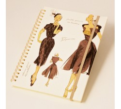 Notebook wirebound Women's Fashion - NB 003C
