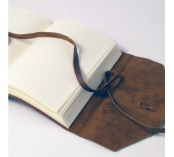Leather Notebook Vintage Brown - 463 VI