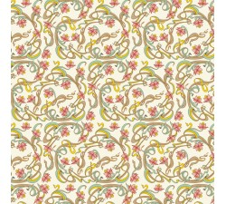 Decorative Paper Art-Nouveau Flowers - CRT 133
