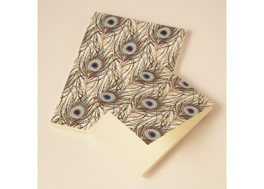 Notepad A7 Peacock Collection - PLM 035 (Small)
