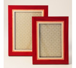 Luxury Frame Poplar Wood Red - FLUO R LG (Large)
