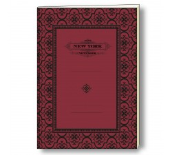 Notebook Eco Friendly Italian Paper NYC Old Style - NB S21A NY