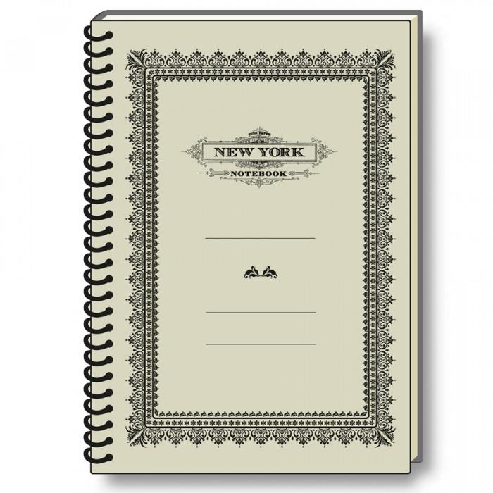 Notebook Eco Friendly Italian Paper NYC Old Style - NB S18P NY