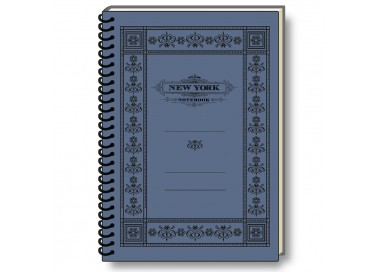 Notebook Eco Friendly Italian Paper NYC Old Style - NB S20P NY
