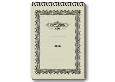 Notepad Eco Friendly Italian Paper NYC Old Style - NP S18Q NY