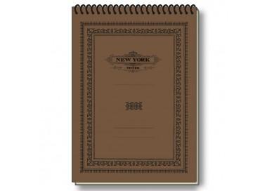 Notepad Eco Friendly Italian Paper NYC Old Style - NP S19Q NY