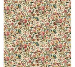 Decorative Paper Art Nouveau Flowers - CRT 117