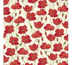 Decorative Paper Poppies - CRT 583