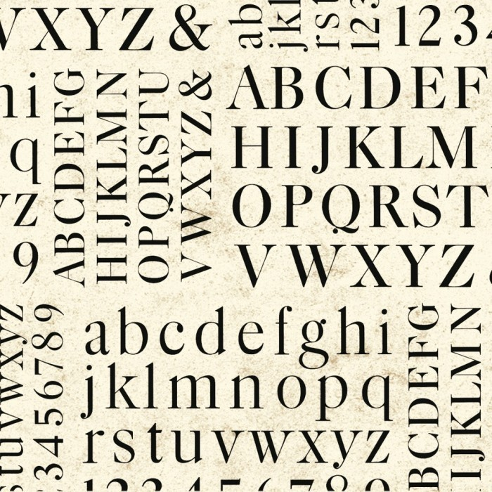 Decorative Paper Alphabet - CRT 630