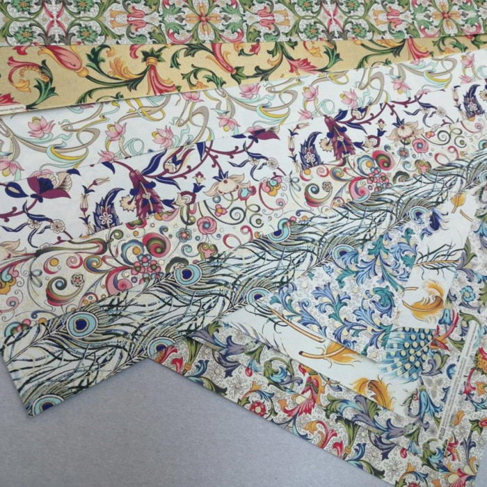 """Welcome Starting Set – Selection of """"Florentine"""" Iconic Decorative Papers WSS001"""