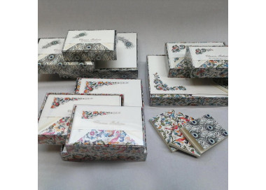 """Welcome Starting Set – Selection of """"Florentine"""" Iconic Stationery WSS002"""