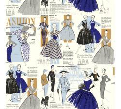 Decorative Paper Women's fashion 50th. - CRT 174