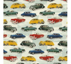 Decorative Paper Vintage Cars - CRT 651