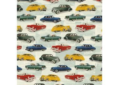 Decorative Paper Vintage Cars - CRT 651