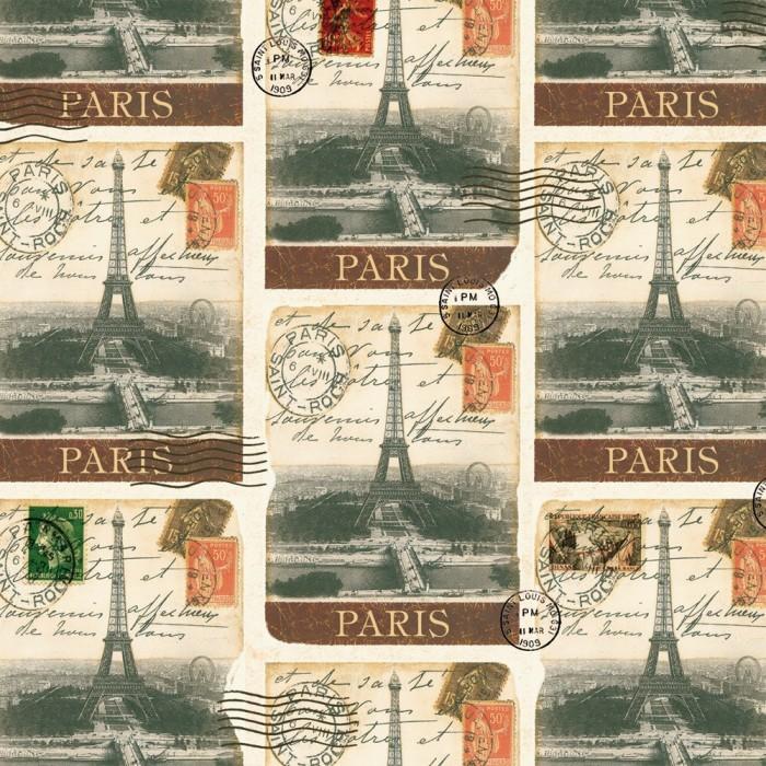 Decorative Paper Destination Paris - CRT 655