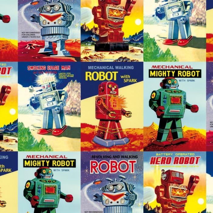 Decorative Paper Vintage Robots - CRT 664