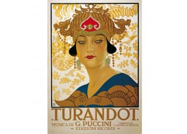 "Decorative Paper Sheet Vintage Image ""Turandot"" - CR 006"