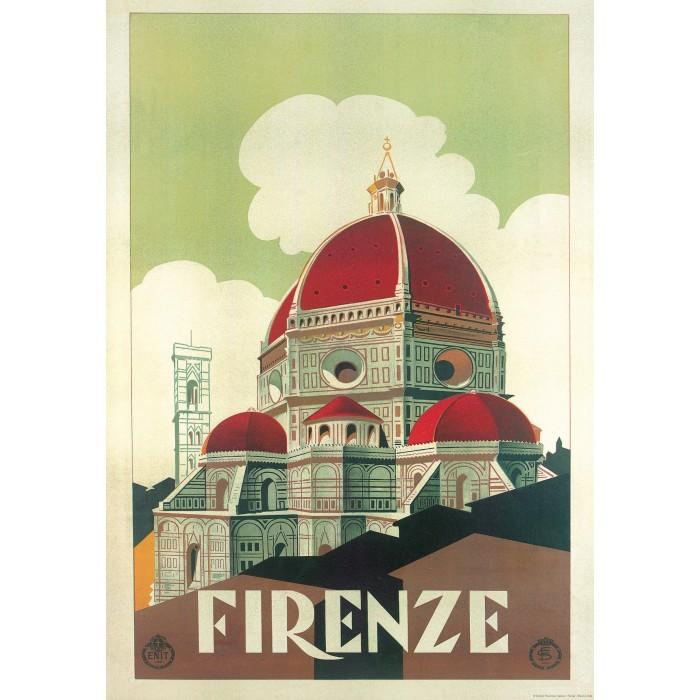 "Decorative Paper Vintage Image ""Firenze Cupola"" - CR 034"