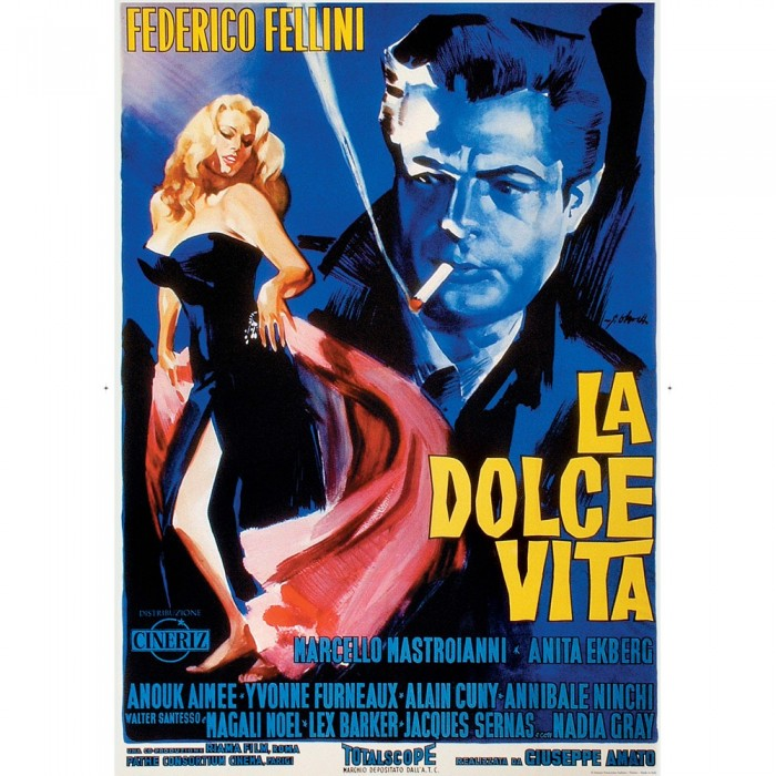 "Decorative Paper Vintage Image ""La Dolce Vita"" - CR 036"