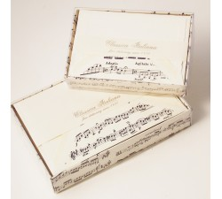 Folded Cards and Lined Envelopes Vivaldi Musical Score - BSC 403