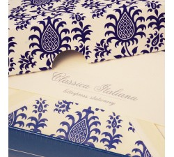 Letterpress Flat Cards and Lined Envelopes Pineapples - BSC 476