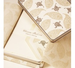 Letterpress Folded Cards - Reusable Tin Box