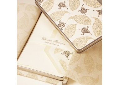 Folded Cards and Lined Envelopes Palm Leaves - BSC 481