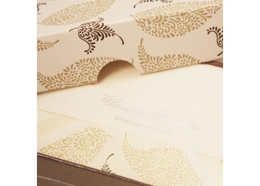 Letterpress Flat Cards and Lined Envelopes - BSC 482